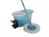 360 Easy Clean Rotating Spin Magic Hurricane Mop Micro Fiber Tranparent With Pedal